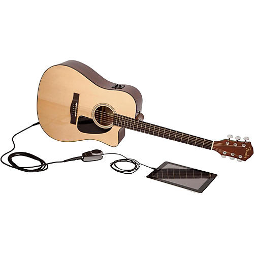 Fender FA-300CE Slide Acoustic-Electric Guitar Pack