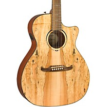 Fender FA-345CE Spalted Maple Auditorium Acoustic-Electric Guitar