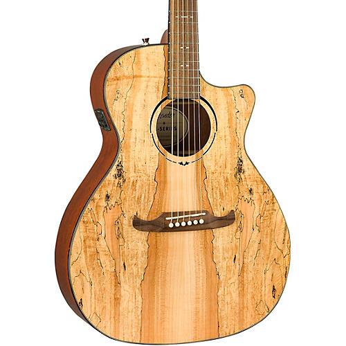 Fender FA-345CE Spalted Maple Auditorium Acoustic-Electric Guitar