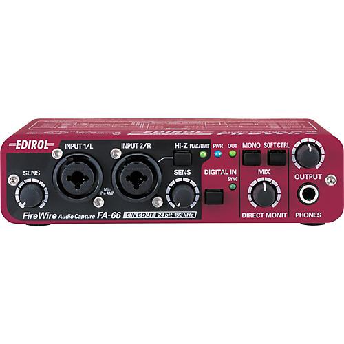 Edirol FA-66 6X6 FireWire Audio Interface