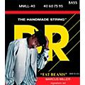DR Strings FATBEAM  Marcus Miller Stainless Steel 4-String Bass Strings Lite (40-95) thumbnail