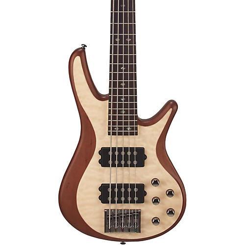 Mitchell FB705 Fusion Series 5-String Bass Guitar with Active EQ Condition 1 - Mint Natural