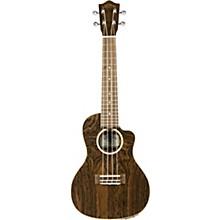 Open BoxLanikai FBCET-C Figured Bocote Thin Body Concert Acoustic-Electric Guitar