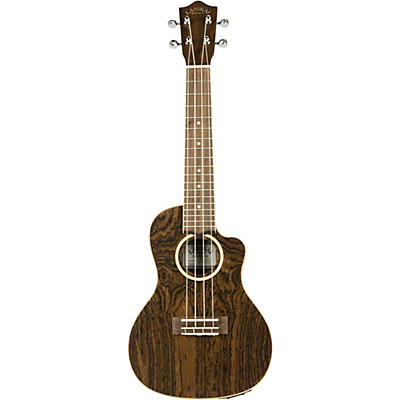 Lanikai FBCET-C Figured Bocote Thin Body Concert Acoustic-Electric Guitar