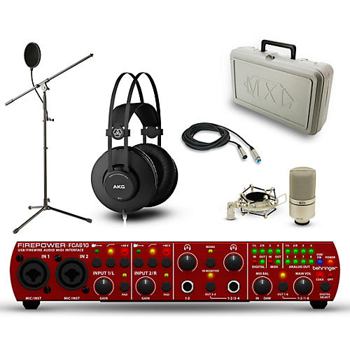 Behringer FCA610 Firepower, K52 and 990 Package