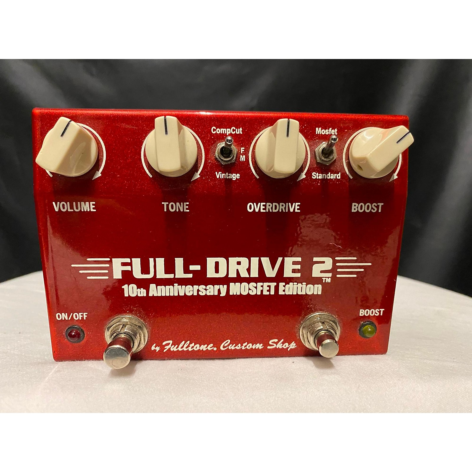 Fulltone FD2MOS Fulldrive 2 Mosfet Overdrive 10th Anniversary Effect Pedal