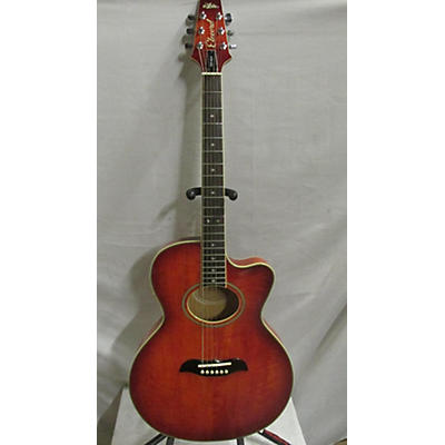 Aria FET-DLX Acoustic Electric Guitar