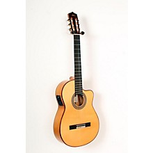 Open Box Manuel Rodriguez FF Cutaway Cypress Classical Acoustic-Electric Guitar