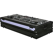 Open BoxOdyssey FFX12CDJWBL Dual Large Format Tabletop CD/Digital DJ Coffin
