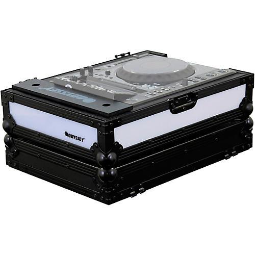 Odyssey FFX2LCDJBL Flight FX Case For Large Format Tabletop CD/Digital Media Player