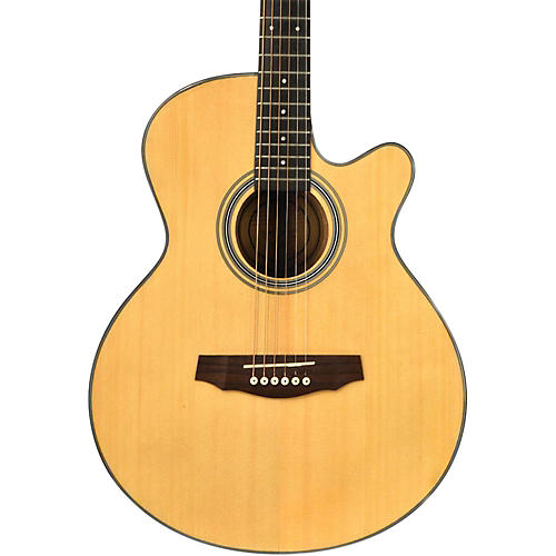 fretlight fg 5 acoustic electric guitar with built in lighted learning system musician 39 s friend. Black Bedroom Furniture Sets. Home Design Ideas