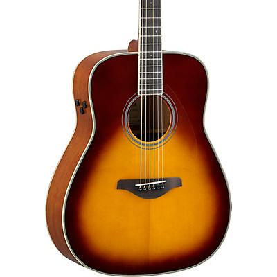 Yamaha FG-TA TransAcoustic Dreadnought Acoustic-Electric Guitar