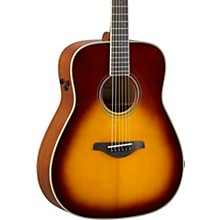 Open Box Yamaha FG-TA TransAcoustic Dreadnought Acoustic-Electric Guitar