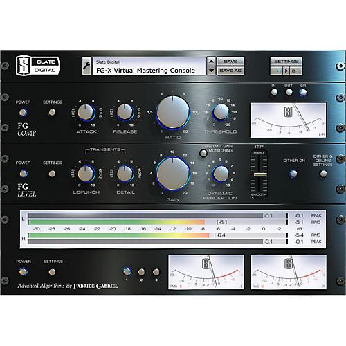 Slate Digital FG-X Virtual Mastering Processor Software Download