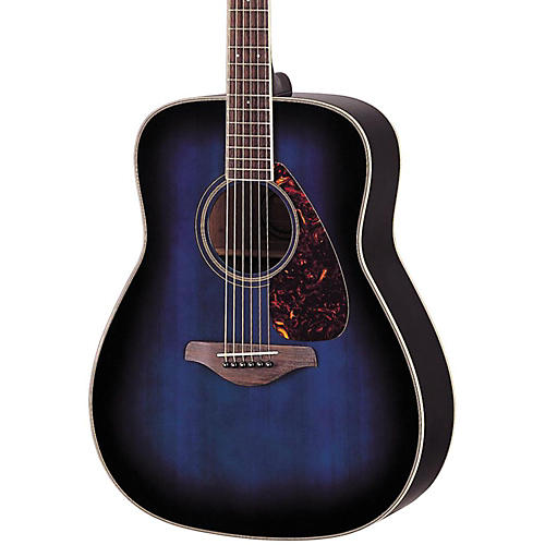yamaha fg720s acoustic guitar ocean blueburst musician 39 s friend. Black Bedroom Furniture Sets. Home Design Ideas