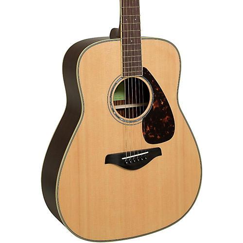 Yamaha FG830 Dreadnought Acoustic Guitar Natural