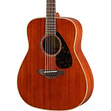 Open Box Yamaha FG850 Dreadnought Acoustic Guitar