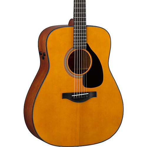Yamaha FGX3 Red Label Dreadnought Acoustic-Electric Guitar Restock Natural Matte