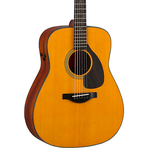 Yamaha FGX5 Red Label Dreadnought Acoustic-Electric Guitar Natural Matte