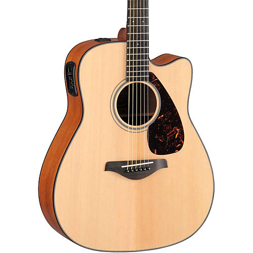 yamaha fgx700sc solid top cutaway acoustic electric guitar musician 39 s friend. Black Bedroom Furniture Sets. Home Design Ideas