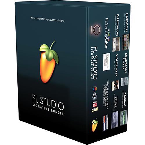 Image Line FL Studio 10 Signature Bundle with Free Upgrade to Version 11