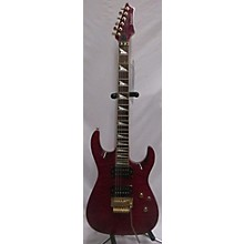 Johnson FLOYD ROSE RED QUILT S STYLE Solid Body Electric Guitar