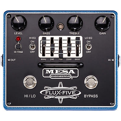 Mesa Boogie FLUX-FIVE Overdrive Effects Pedal