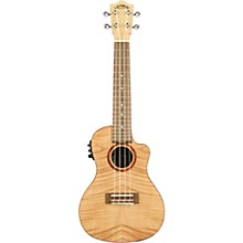 Lanikai FM-CEC Flame Maple Concert Acoustic-Electric Ukulele