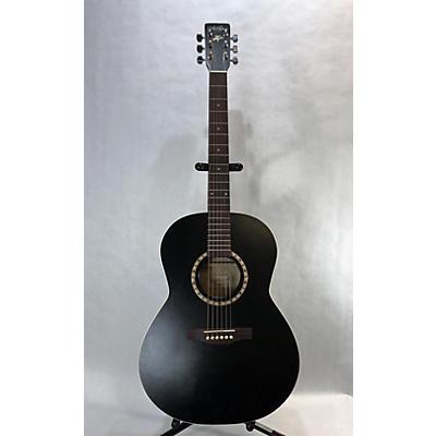 Art & Lutherie FOLK CEDAR BLACK SF Acoustic Guitar