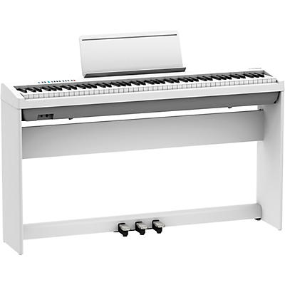 Roland FP-30X Digital Piano with Matching Stand and Pedalboard