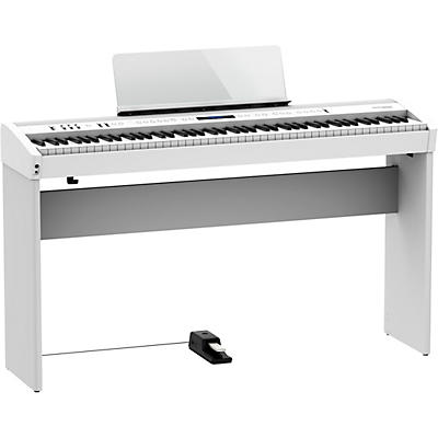 Roland FP-60X Digital Piano with Matching Stand and DP-10 Pedal