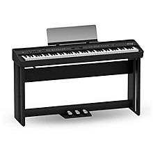 Roland FP-90 Digital Piano Black With Stand and Pedal Board