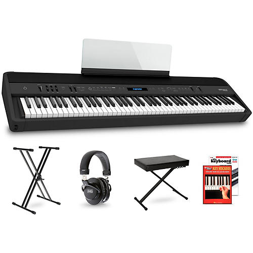 Roland FP-90X Digital Piano Package Beginner