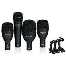 Open Box Audix FP4NC 4-Piece Drum Microphone Pack