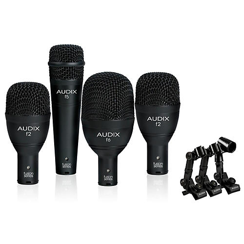 Audix FP4NC 4-Piece Drum Microphone Pack
