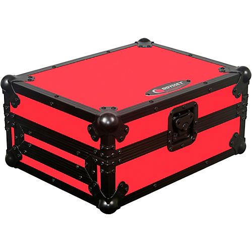 Odyssey FRCDJBKRED Flight Ready CD Player Case (Black and Red)