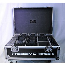CHAUVET Professional FREEDOMPAR Quad4 7 PACK WIRELESS BATTERY POWERED LIGHTING BUNDLE WITH CHARGE 9 FLIGHT CASE Par Can Light