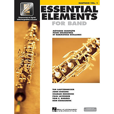 Hal Leonard FRENCH EDITION Essential Elements EE2000 Oboe  (Book/Online Audio)