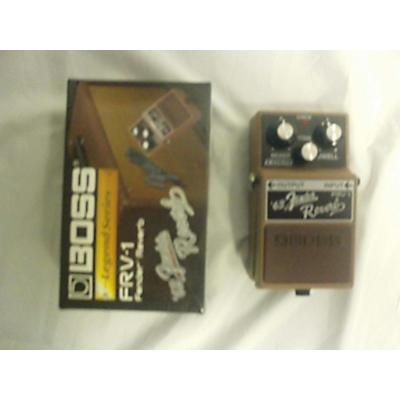 Boss FRV-1 Fender 63 Reverb Effect Pedal