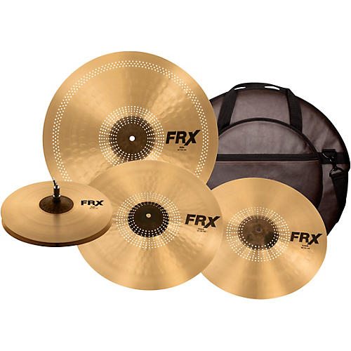 Sabian FRX PrePack Cymbal Set with Free Classic Vintage Cymbal Bag