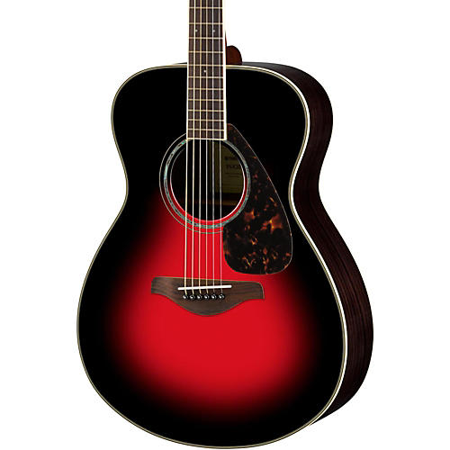 yamaha fs830 small body acoustic guitar dusk sun red musician 39 s friend. Black Bedroom Furniture Sets. Home Design Ideas