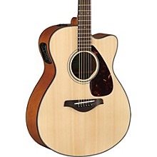 FSX800C Small Body Acoustic-Electric Guitar Natural