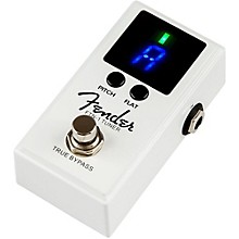 Open Box Fender FTN 1 Pedal Guitar Tuner
