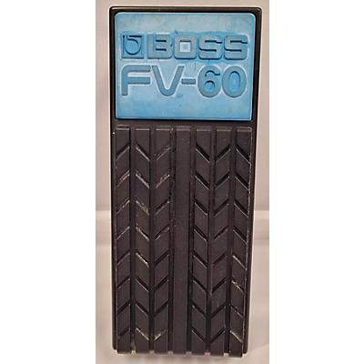 Boss FV60 Volume Pedal
