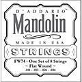 D'Addario FW74 Flatwound Medium Mandolin Strings thumbnail