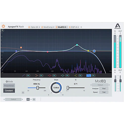 Apogee FX Rack Mod EQ