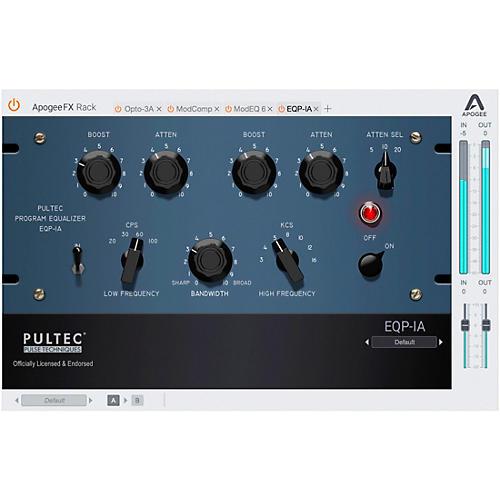 Apogee FX Rack Pultec EQP-1A Program Equalizer