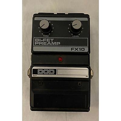 DOD FX10 BI-FET PREAMP Effect Pedal