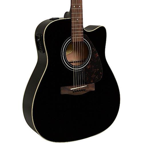 yamaha fx335c dreadnought acoustic electric guitar black musician 39 s friend. Black Bedroom Furniture Sets. Home Design Ideas