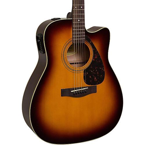 yamaha fx335c dreadnought acoustic electric guitar tobacco sunburst musician 39 s friend. Black Bedroom Furniture Sets. Home Design Ideas